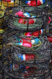 Crab Pots Stock Photography