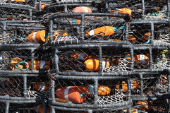 Crab Pots used by Fisherman Royalty Free Stock Photography