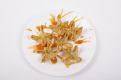 Crab Rangoon. Picture for use in restaurant Stock Photo