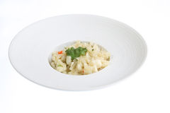 Crab Risotto Dish Royalty Free Stock Photos