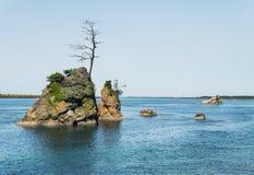 Crab Rock Royalty Free Stock Image