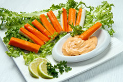 Crab salad Stock Image