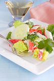 Crab salad Stock Image