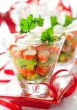 Crab salad with avocado Stock Photos