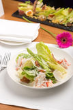Crab salad Stock Photography