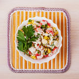 Crab salad Royalty Free Stock Photography
