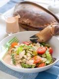 Crab salad Stock Photos