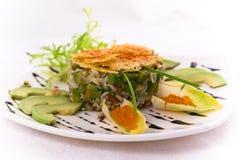Crab salat Royalty Free Stock Image