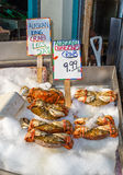 Crab for sale Royalty Free Stock Photos