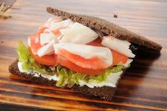 Crab sandwich Stock Images
