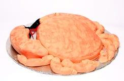 Crab Shaped Birthday Cake Royalty Free Stock Photos