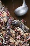 Crab Soup, Cambodia Stock Photo