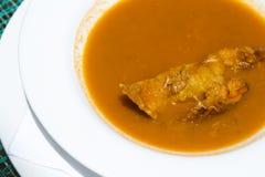 Crab soup Stock Photos
