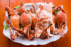 Crab steamed Royalty Free Stock Photo