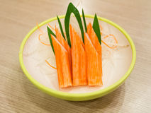 Crab stick Stock Images