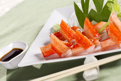 Crab stick set Stock Photography