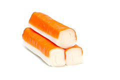 Crab sticks. Royalty Free Stock Photo