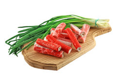 Crab Sticks. Royalty Free Stock Images