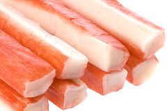 Crab Sticks Isolated Royalty Free Stock Photos