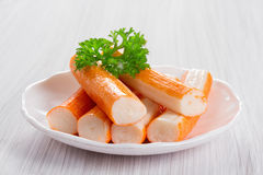 Crab sticks Stock Photography