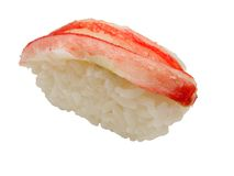 Crab sushi Stock Photo