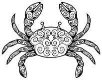 Crab tattoo Stock Photos
