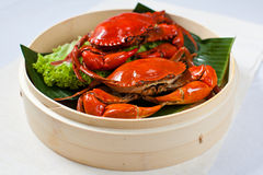 Crab for 7th Lunar Month Specialties. Whole Crab for 7th Lunar Month Specialties Royalty Free Stock Images