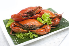 Crab for 7th Lunar Month Specialties. Whole Crab for 7th Lunar Month Specialties Royalty Free Stock Photo