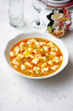 Crab Tofu Stock Image