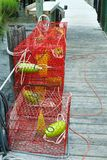 Crab Traps Stock Photos
