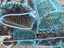 Crab Traps Royalty Free Stock Photo