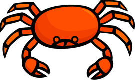 crab vector illustration Royalty Free Stock Photos