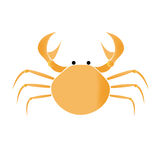 Crab vector illustration Royalty Free Stock Photo