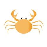 Crab vector illustration royalty free stock photo
