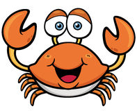 Crab. Vector illustration of Cartoon crab royalty free illustration