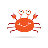 Crab vector illustration Stock Images