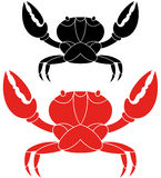 Crab. Vector illustration (EPS 10 Royalty Free Stock Photos