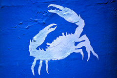Crab wall Stock Photo