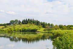 Crabapple lake Stock Images