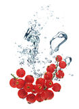 Crabapples in water Royalty Free Stock Image