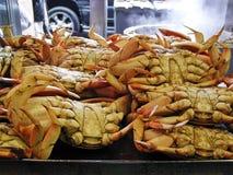 Crabe à vendre Images libres de droits