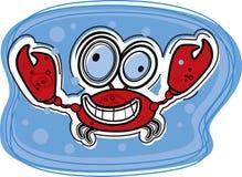 Crabe illustration libre de droits