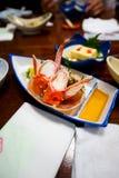 Crabe délicieux Photos stock
