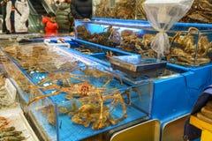 Crabe dans l'étang photo libre de droits