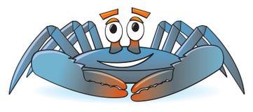 Crabe de dessin animé Photographie stock