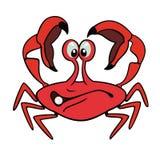 Crabe de dessin animé Photos stock