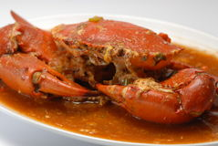 Crabe de /poivron Image libre de droits