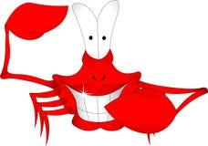 Crabe de sourire Photographie stock libre de droits