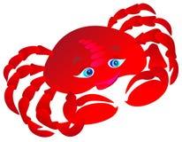 Crabe. Illustration de vecteur   Image stock