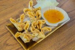 Crabe Rangoon Photos stock